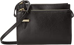 Lodis Accessories - Stephanie RFID Trisha Double Zip Wallet on a String