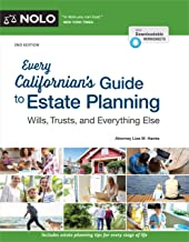 Every Californian's Guide To Estate Planning: Wills, Trust & Everything Else PDF