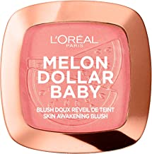 L'Oréal Paris Wake Up & Glow Melon Dollar Baby, Colorete, Tono Rosado