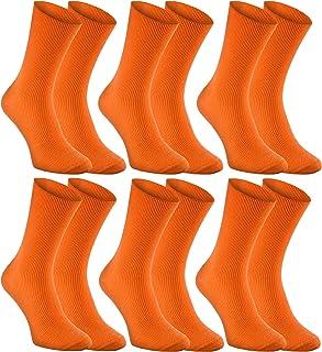 Rainbow Socks, Hombre Mujer Calcetines Antibacterianos Sin Elasticos Para Diabéticos