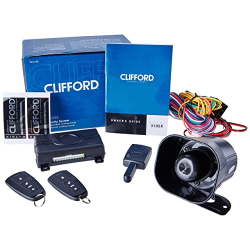 clifford matrix +1 2 1-way security alarm system