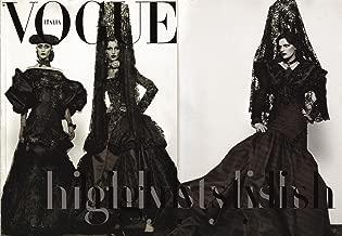 Vogue Italia Italy September 2007 Couture Supplement Gisele Stella Iris Apfel [Settembre 2007 Italian Import]