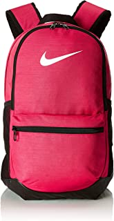 Nike Unisex Pink Polyester Brasilia Training Backpack