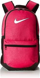 Nike Unisex Pink Polyester Brasilia Training Backpack