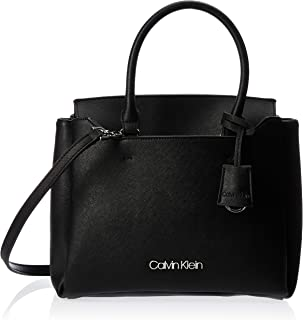 Calvin Klein Task Small Tote Bag, Black, 28 cm, K60K606024