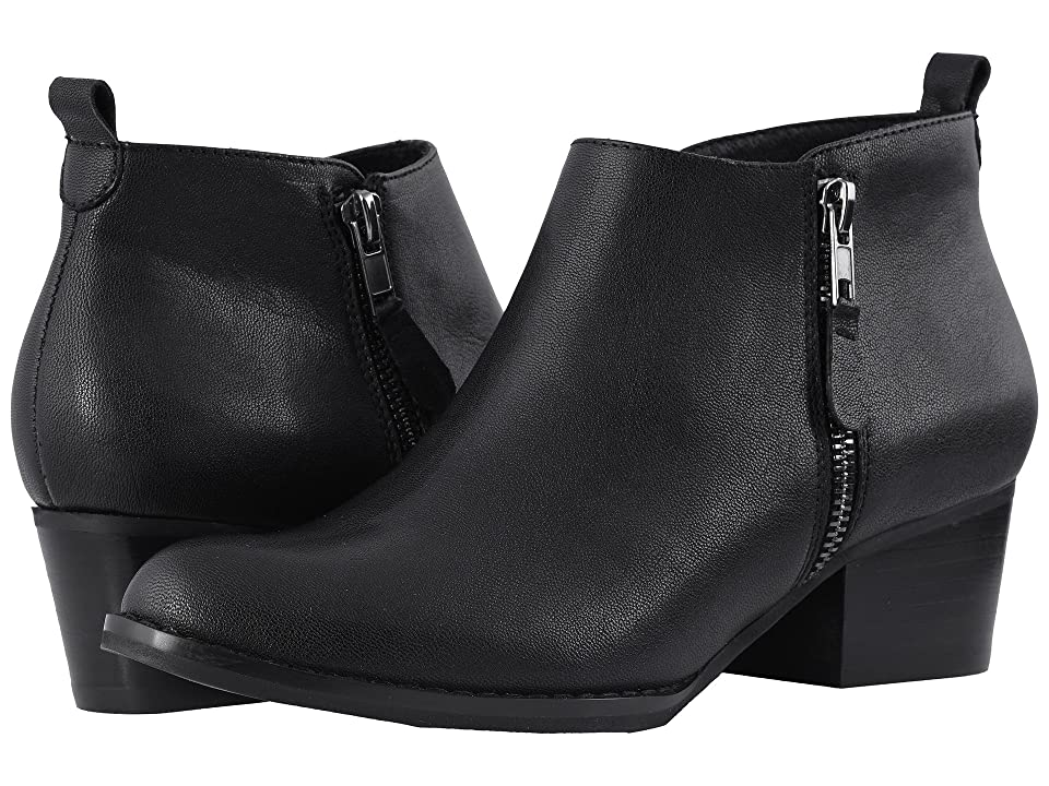 Vaneli Baxy (Black Leather) Women