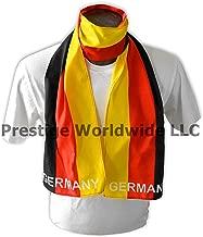 German Flag Print Scarf 64