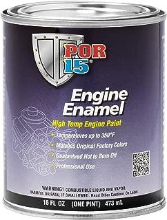 POR-15 42238 White Engine Enamel - 1 pint