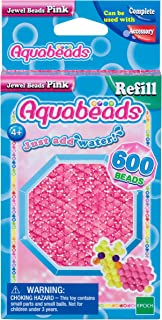 Aquabeads Jewel Bead Refill Pack, Pink