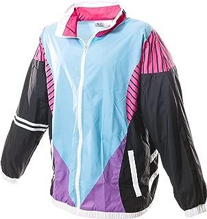 80s & 90s Retro Neon Windbreaker