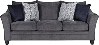 Simmons Upholstery Albany Sofa, Pewter