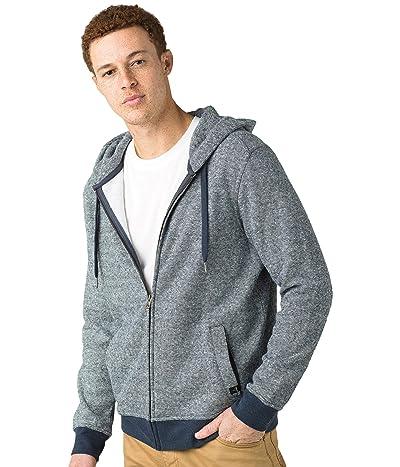 Prana Cardiff Fleece Full Zip (Nocturnal Stripe) Men