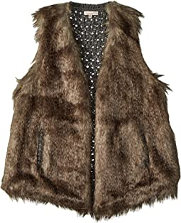 Faux Fur Vest (Big Kids)
