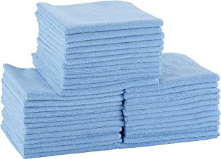 DRI Professional Extra-Thick Microfiber Cleaning Cloth 48 Pack Blue