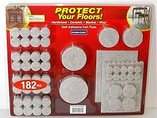 Floor-Care 182-Piece Self Adhesive Felt Pads Kit
