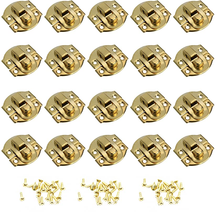 ZXHAO Jewelry box latch with small buckle wooden box buckle latch (29x26) 20pcs