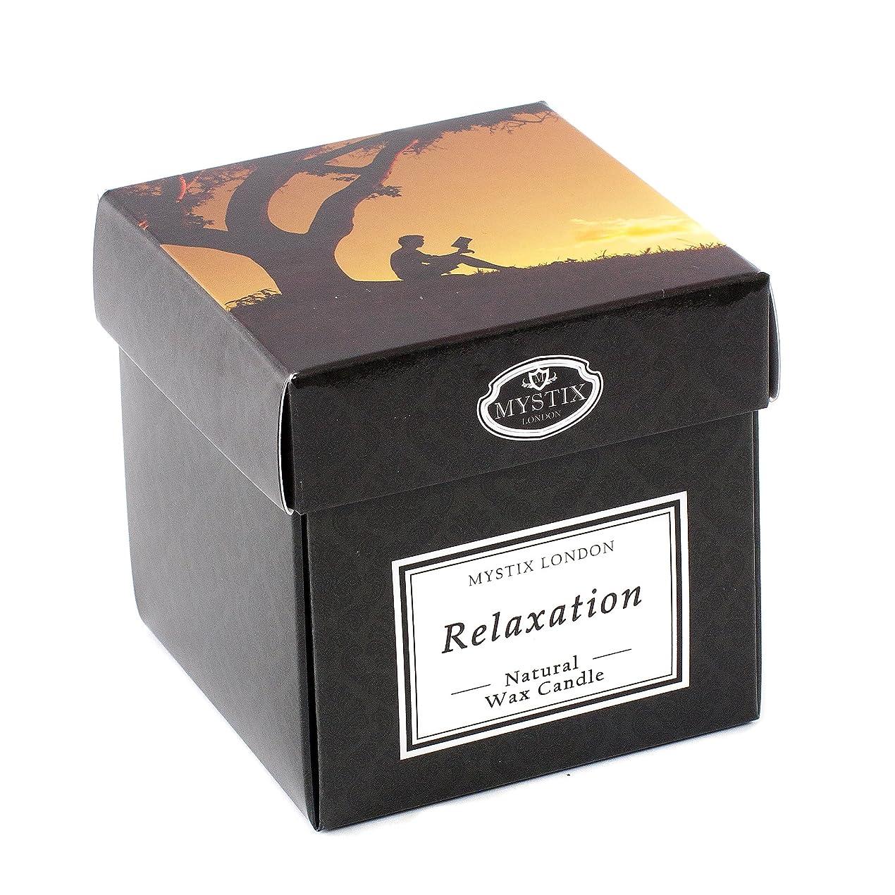 不測の事態雑品キャメルMystix London   Relaxation Scented Candle - Large
