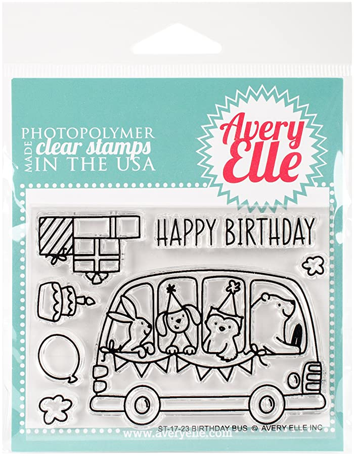 Avery Elle ST-17-23 Clear Stamp Set 4