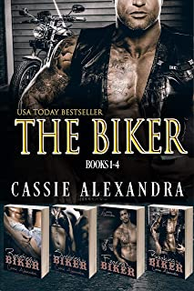 The Biker Series Boxed Set Books 1 - 4 (Biker MC Romance)