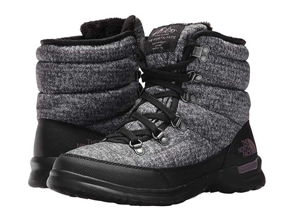 The North Face ThermoBall Lace II (Burnished Houndstooth Print/Black Plum (Past Season)) Women