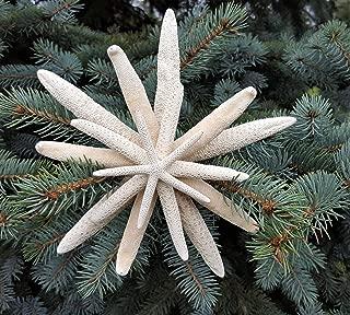 Nautical Starfish Christmas Tree Topper - Beach Coastal Decor Nautical Star Fish Tree Topper - 8