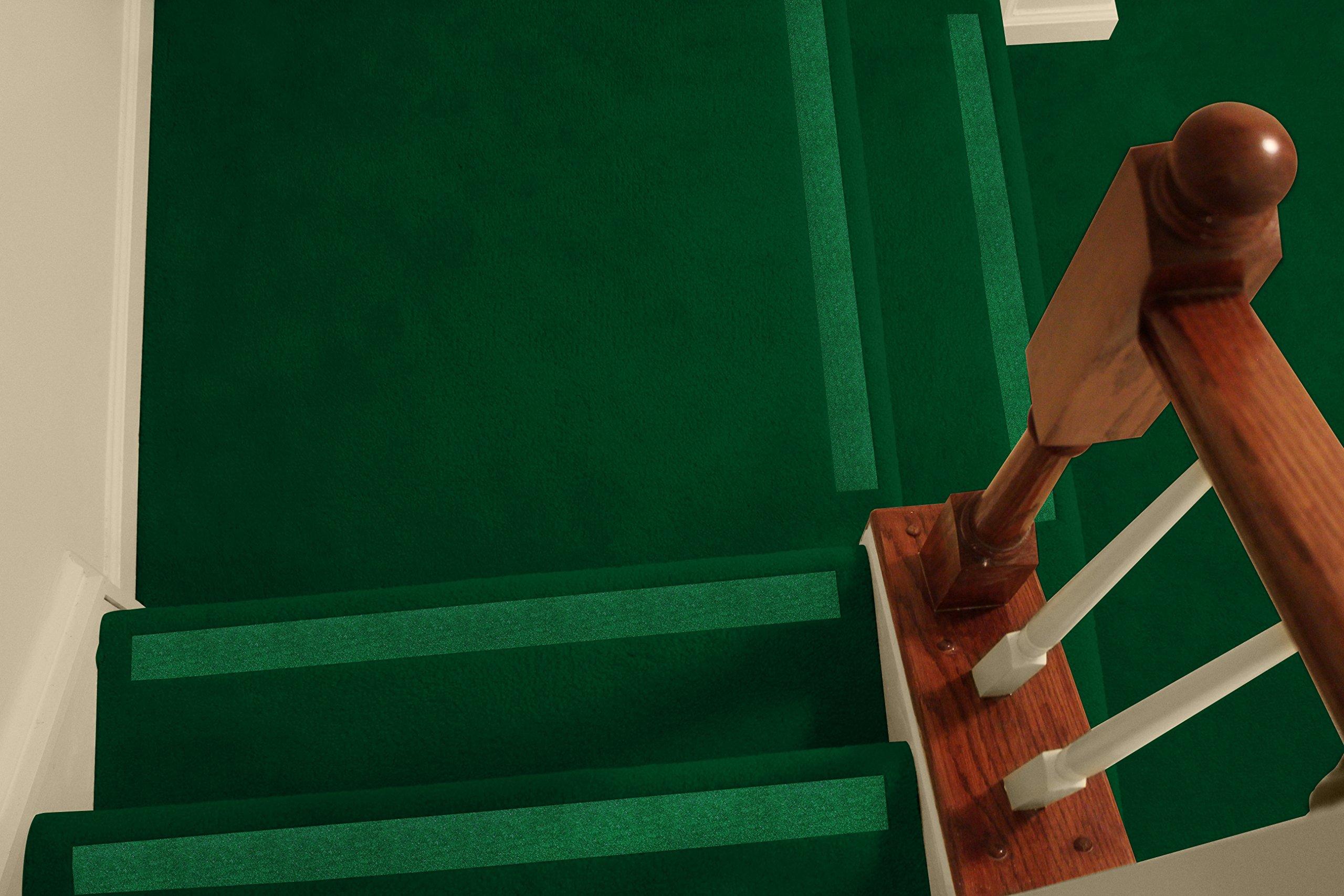 Antideslizante tiras – antideslizante peldaños para mayor seguridad en escaleras con moqueta: Amazon.es: Bricolaje y herramientas
