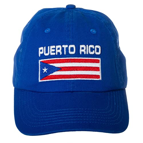 529611cc62078 Puerto Rico Flag Puerto Rican Pride Hat - 100% Cotton Embroidered Cap