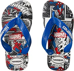 Havaianas Kids - Top Spiderman Sandals (Toddler/Little Kid/Big Kid)