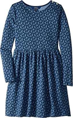 Floral French Terry Dress (Little Kids/Big Kids)