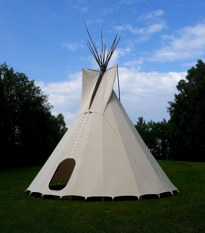 Komplettes  6m Tipi Indianerzelt Wigwam Indianer Zelt Sioux , YAKARI Style Indianertipi