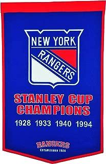 Winning Streak NHL New York Rangers Dynasty Banner
