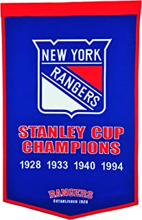 Winning Streak NHL New York Rangers Dynasty Banner
