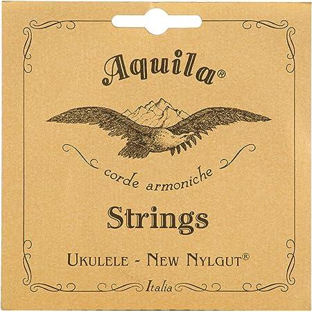 Aquila New Nylgut AQ-15 Tenor Ukulele Strings - Wound Low G - 1 Set of 4