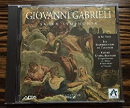 Giovanni Gabrieli: Sacrae Symphoniae (Adda)