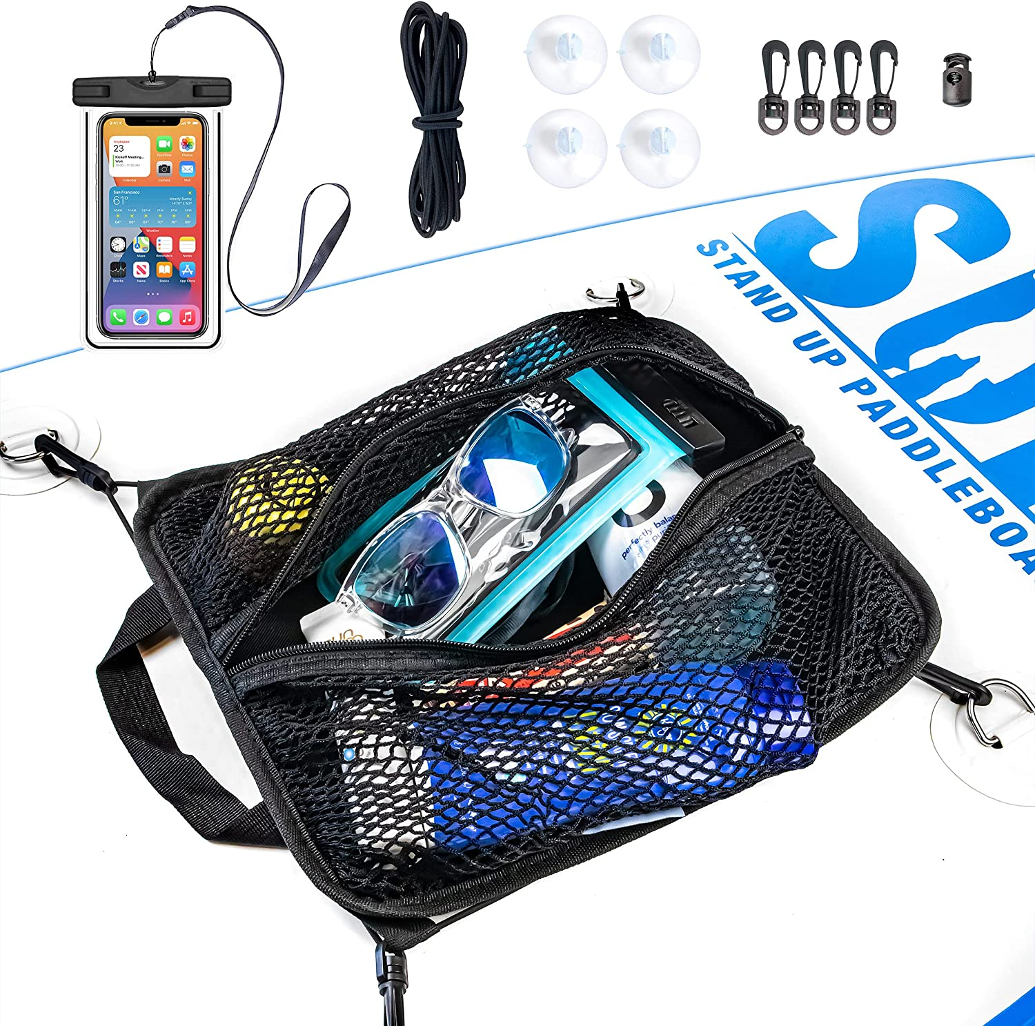 SUP-Now Popular standard Paddleboard Deck Bag with Challenge the lowest price Waterproof Case Phone