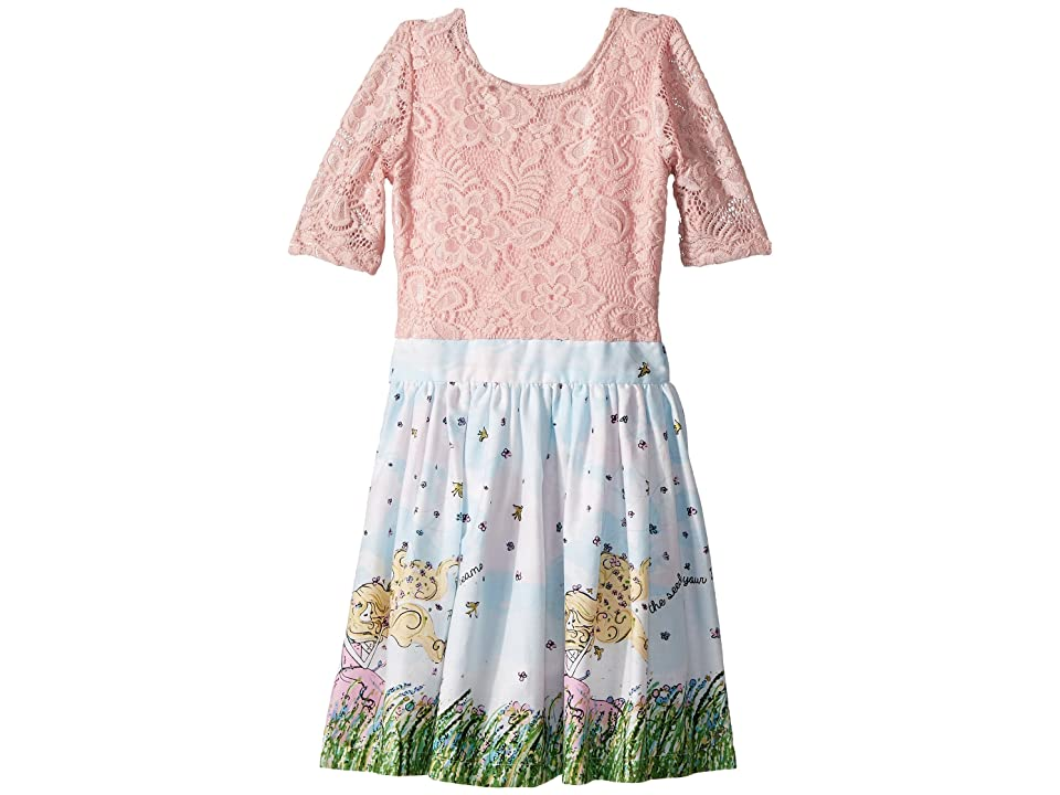 fiveloaves twofish Flower Girl Abbie Dress (Toddler/Little Kids/Big Kids) (White) Girl