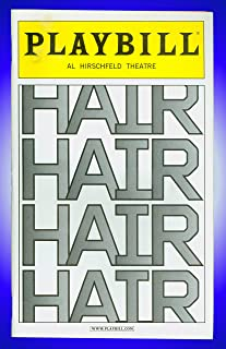 Hair, Broadway playbill + Annaleigh Ashford , Ace Young , Diana DeGarmo , Kyle Riabko