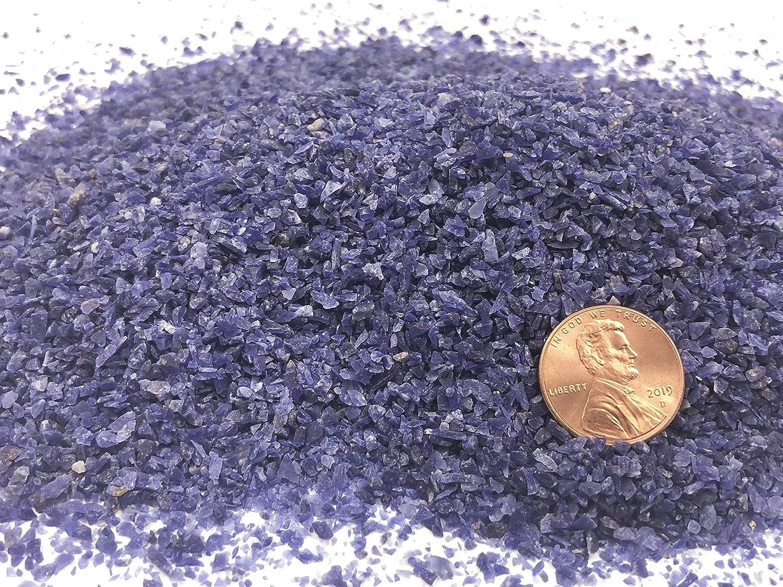 Makers Minerals Natural Mesa Mall Crushed Sodalite 1 Inlay Save money Stone Medium