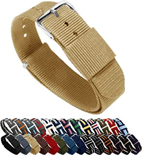 Ballistic Nylon NATO Style Straps - Choice of Color, Length & Width (18mm, 20mm, 22mm or 24mm)