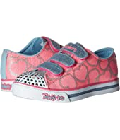 SKECHERS KIDS Sparkle Glitz 10709L Lights (Little Kid/Big Kid)