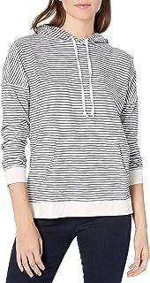Goodthreads Sudadera con Capucha Popover de algodón Vintage Camisa de Vestir para Mujer