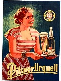 Pilsner Urquell -Counter Display Bier Sign - Czech Beer