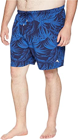 Big & Tall Naples Midnight Floral Swim Short