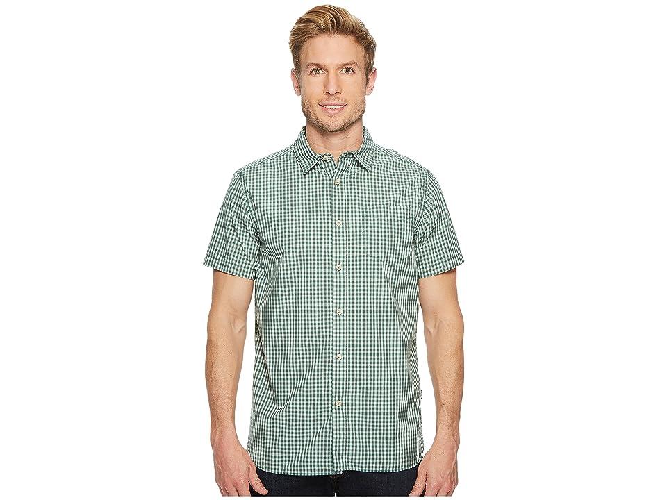 The North Face Short Sleeve Shadow Gingham Shirt (Smoke Pine) Men