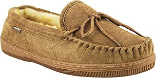 Men's Suede Classic Moccasin Slippers