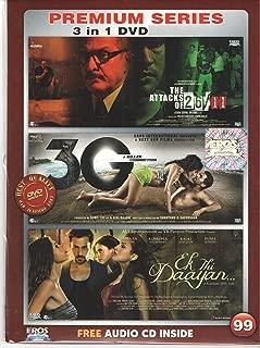 The Attacks of 26/11 / 3G - A Killer Connection / Ek Thi Daayan Hindi Movie / Bollywood Film / Indian Cinema 3 in 1 Orginal Without Subtittles