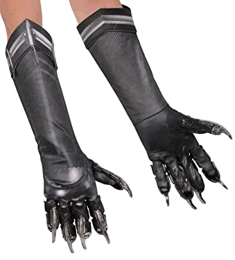 Marvel's Captain America: Civil War Black Panther Deluxe Child Gloves
