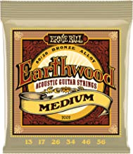 Ernie Ball Earthwood Medium 80/20 Bronze Acoustic Set.013 - .056