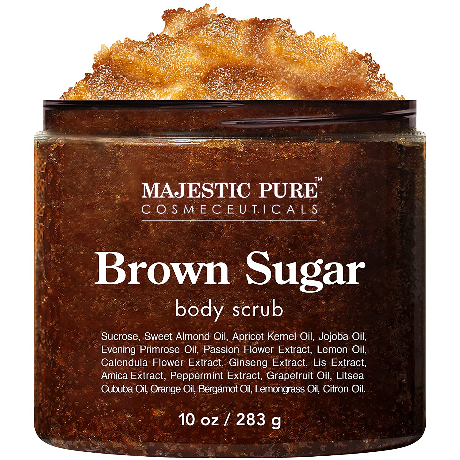 Brown Sugar Import Body Complete Free Shipping Scrub for Cellulite Natural and B Exfoliation -