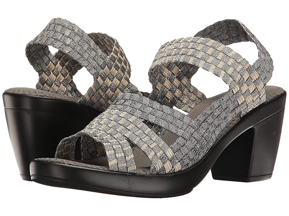 bernie mev. Texas Cindy (Pewter/Light Gold) High Heels